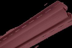 """Планка """"внутренний угол"""", 3м, цвет Гранатовый"""