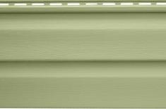 Панель виниловая Альта-Сайдинг салатовая, 1,83м