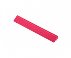Боковой элемент обрамления с пазами под замки, цвет Розовый